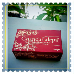 Аюрведическое травяное мыло-скраб Chandanalepa