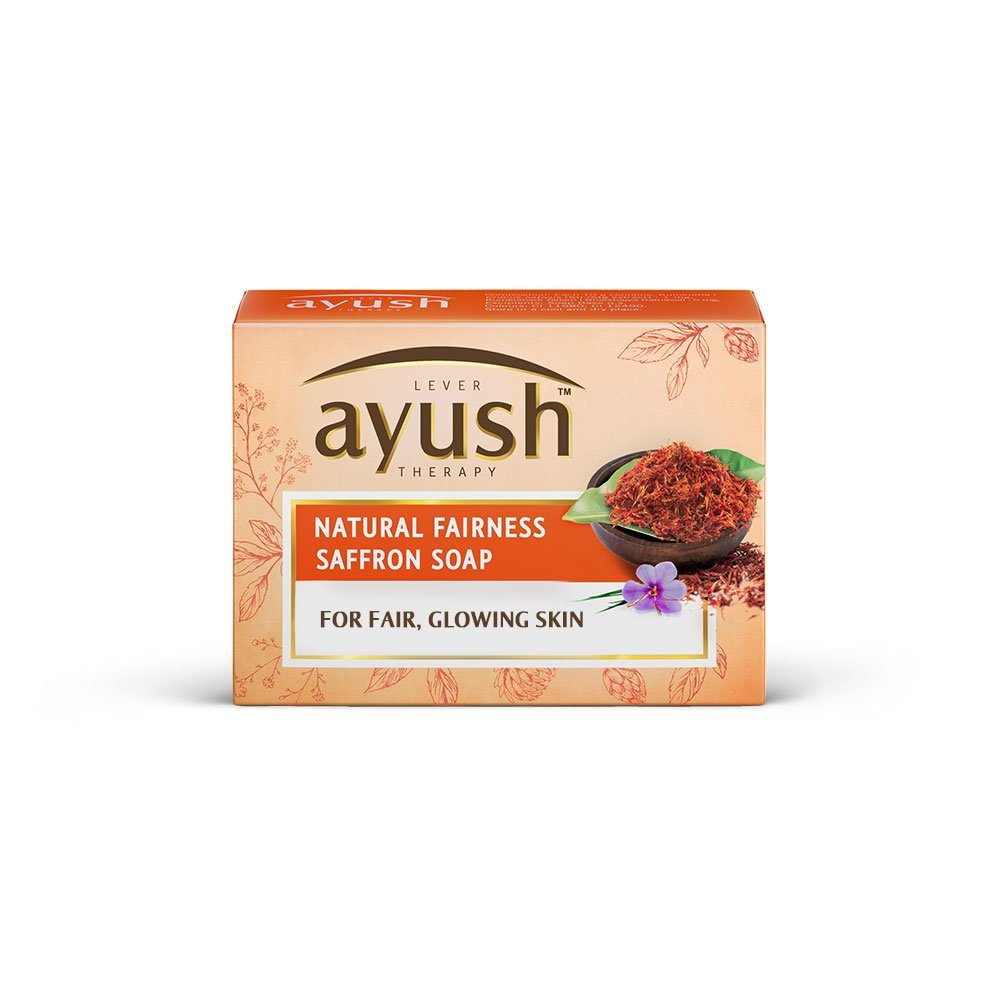 Ayush-natural-fairness-saffron-soap