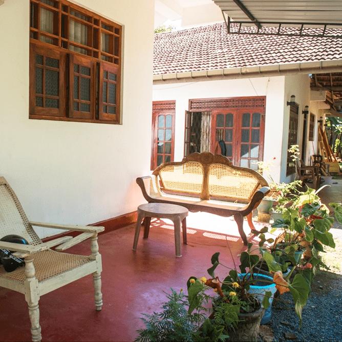 Дом на Шри-Ланке
